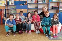 Na fotografii jsou žáci ze ZŠ a MŠ Hořepník, 1. třída paní učitelky Zdeňky Švejdové. Příště představíme prvňáčky ze ZŠ a MŠ Nová Cerekev.