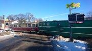 V Kamenici nad Lipou v pátek vykolejil vlak. Nehoda se stala před pátou hodinou ranní v Masarykově ulici.