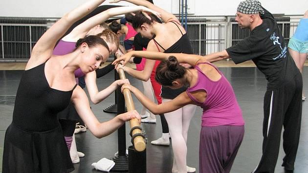 Do pelhřimovských tělocvičen jezdí léto co leto trénovat začínající tanečníci stejně jako členové profesionálních souborů.
