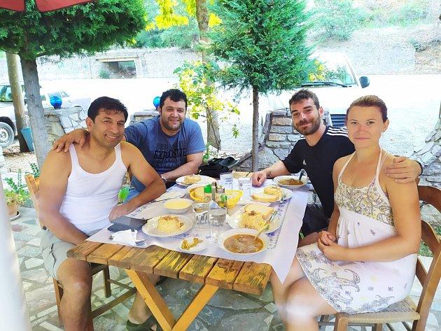 Albánské pozvání na oběd.