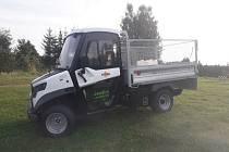 Nový elektromobil humpoleckých technických služeb.