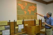 Mapy, písemnosti, fotografie a další archiválie mapující problematiku migrace za první světové války jsou kvidění ve Státním okresním archivu Pelhřimov.