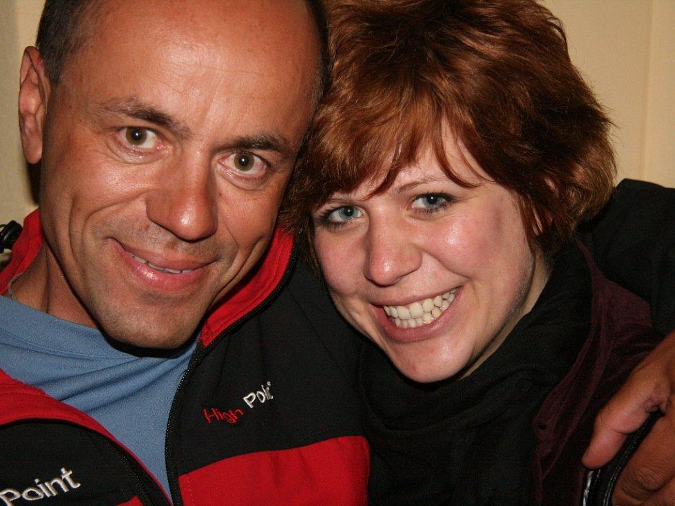 Andrea Jarošová je dcerou nejznámějšího současného českého horolezce Radka Jaroše.