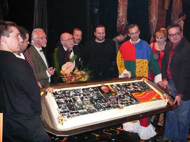 Obří dort pro Lubomíra Lipského