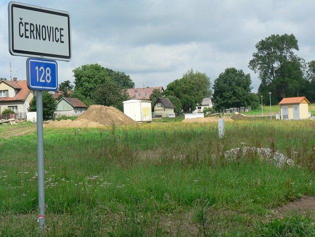 Lokálka vyrostla směrem na Pelhřimov.
