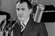 Biľak při projevu v roce 1978