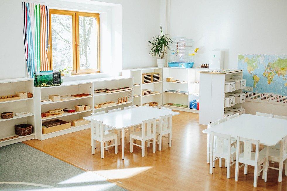 Devítiletá Základní škola Bambi navazuje v Humpolci na osmileté fungování tamní mateřské školy (na snímku), která sídlí ve Školní ulici.