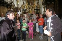 Kostýmované prohlídky v želivském klášteře