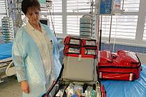 Nové resuscitační batohy.