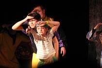 Děti se při představení doslova vyřádily