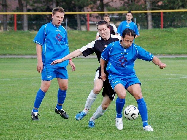 Ne každý den je posvícení. O tom by mohli po neděli vyprávět pelhřimovští fotbalisté (na snímku je kapitán týmu Karel Kocián), kteří prohráli s Moravskými Budějovicemi.
