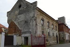 Synagoga v Pacově.