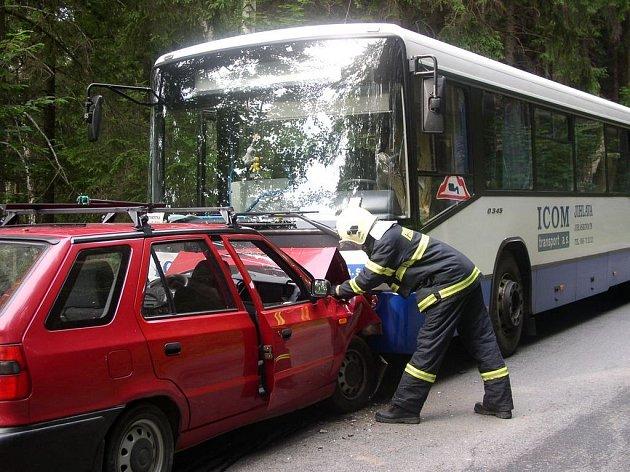 Dopravní nehoda u Nového Rychnova