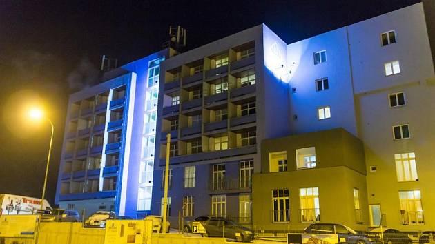 Bytový dům City Center v Pelhřimově.