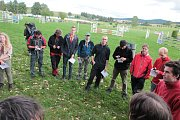 Letošní celostátní kolo Svojsíkova závodu mělo v pátek 15. září odpoledne zahájení a start v Humpolci.