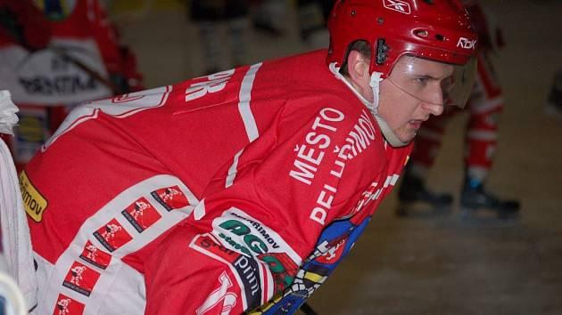 Jana Kašpara (na snímku) je sice v Jihlavě velký zájem, ale chovanec strakonického hokeje do konce sezóny bude oblékat pelhřimovský dres.