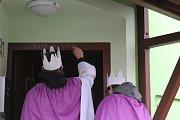 Průvod tří králů prošel Kamenicí nad Lipou.