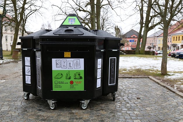 Nový recyklační uzel v Kamenici nad Lipou.