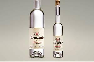 Pivní pálenka Bernard.