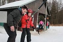 U Křešína začala v sobotu nová etapa lyžování.