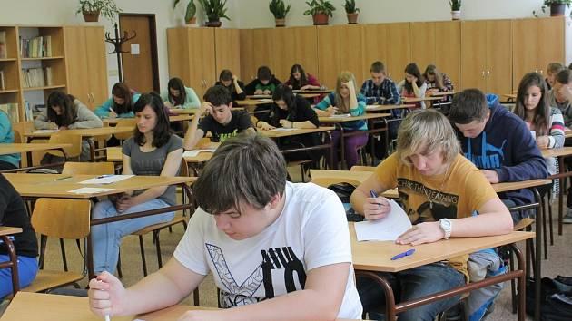 V úterý odstartovaly přijímací zkoušky na střední školy a gymnázia.