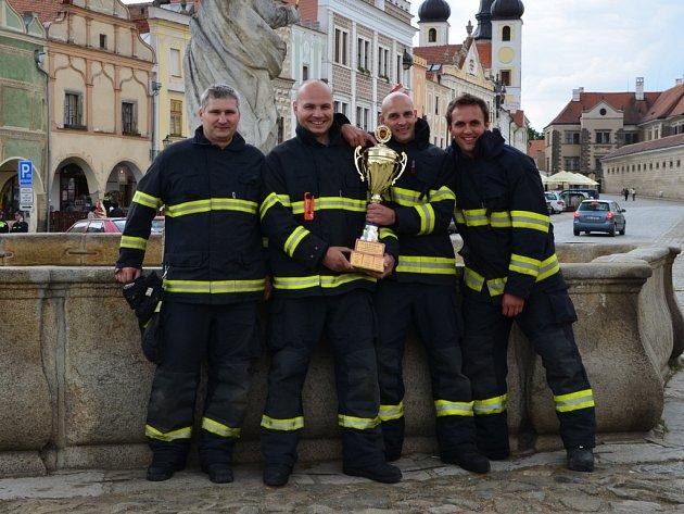 Nejlepší schopnosti a znalosti, stejně jako loni prokázali profesionální hasiči z Pacova.