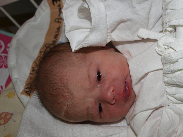 Vanesa Agnes Tříšková, 9.10.2012, Fulnek, 3 000 g