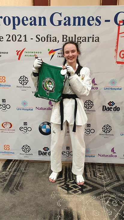 Taekwondistka Izabela Ranecká vybojovala na turnaji v bulharské Sofii stříbrnou medaili. Výsledkem si zajistila účast na mistrovství Evropy.