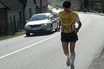 Marcel Brož si sáhl na zpáteční cestě v ondřejovském svahu až na dno svých fyzických i duševních sil.