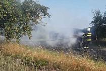 Požár u Kaliště.