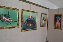 Díla Ladislava Zápařky jsou k vidění do středy 29. dubna v humpoleckém muzeu.