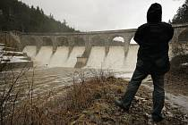 Sedlická přehrada na Pelhřimovsku.
