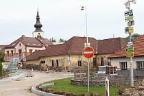 Oprava Komenského ulice.