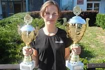 Kateřina Michálková vybojovala na závodech v Plzni dva poháry.