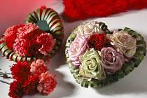 Valentýnská květinová inspirace
