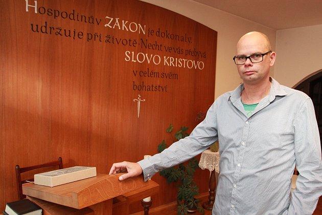 Farář Českobratrské církve evangelické Petr Turecký.