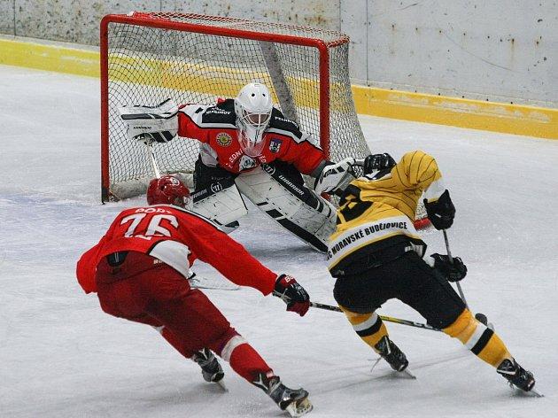 Hokejisté Pelhřimova po třech prohrách zvítězili. Body z Písku znamenají únik ze samého dna druholigové tabulky.