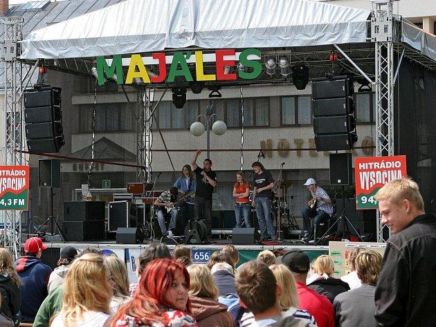 Majáles 2008 - Humpolec 07. května 2008