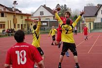 Cílem národních házenkářů humpolecké Jiskry je hrát ve středu tabulky.