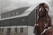 Zima na Křemešníku začíná.