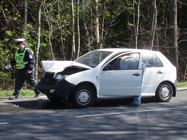 Dopravní nehoda za obcí Čížkov směrem na Pelhřimov