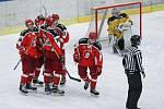 Zápas 2. ligy sk. Střed mezi HC Lední Medvědi Pelhřimov HC Moravské Budějovice 2005