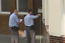 Zajišťování stop u humpolecké polikliniky už mají policisté natrénováno. Od začátku roku sem o víkendu vyjeli počtvrté.