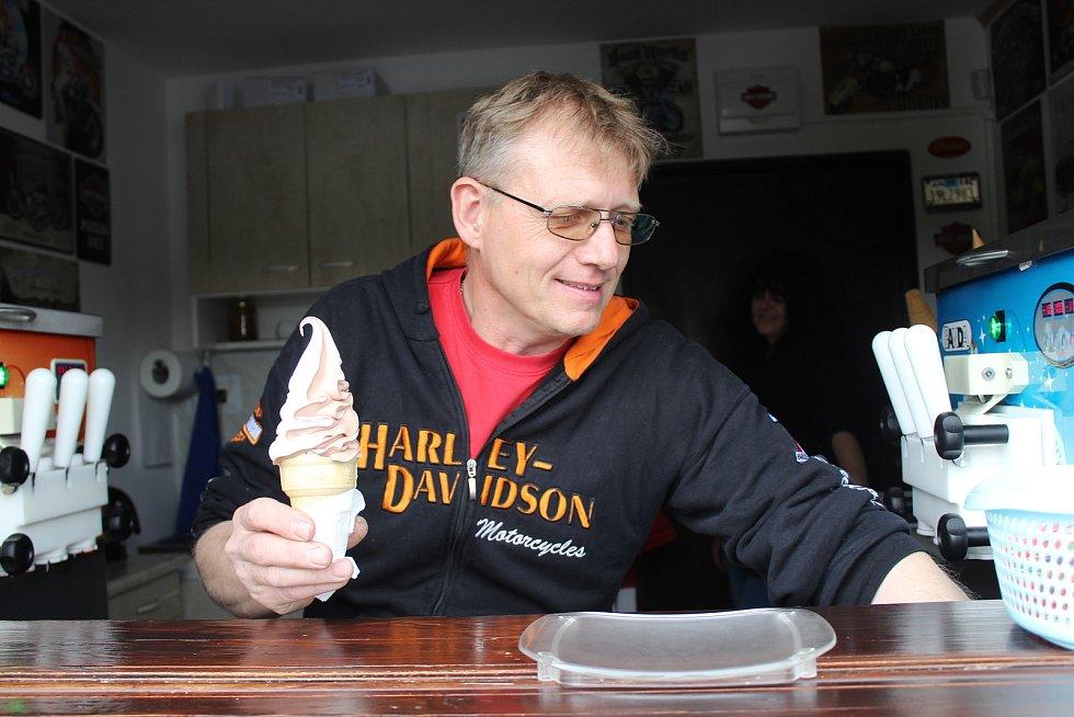 Točená zmrzlina. Ilustrační foto