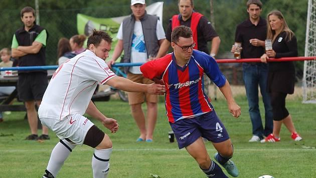 Fotbalisté Nového Rychnova vybojovali první bod, když doma remizovali s celkem Habrů. Pro hosty to byla první bodová ztráta v sezoně.