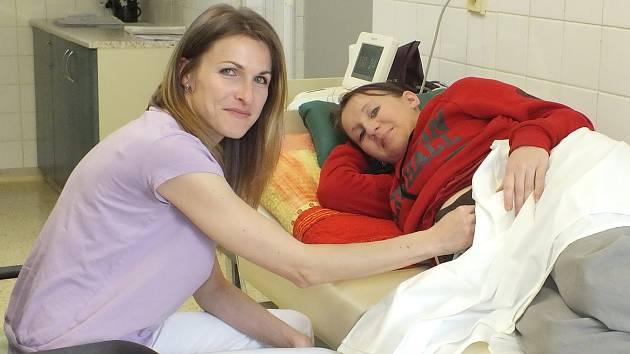 Porodní asistentka Irena Zápotočná.