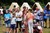 Dětský tábor, ilustrační foto.
