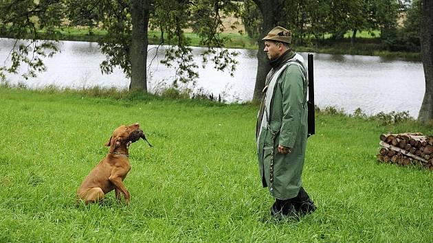 Podzimní zkoušky psů v Bohdalíně