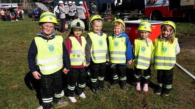 Horní Ves má hasiče už ve školce.