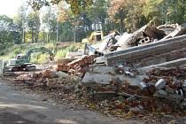 Z původní stavby v Sadech nic nezůstalo